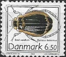 DENMARK 2003 Insects - 6k.50 - Water Beetle (Dysticus Latissimus) FU - Gebraucht