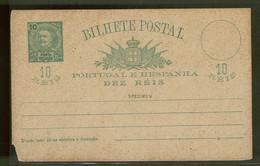 Ponta Delgada, 1892, # 1, Specimen - Ponta Delgada
