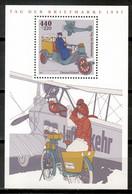 Germany 1997 Alemania / Aviation Airplanes Aircrafts Postal Vehicles MNH Aviones Aviación Luftfahrt / Le12  5-1 - Aerei