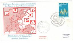 Olanda Nederland CEPT VII^ SESSION ORDINAIRE Cancel LA HAYE - 1972
