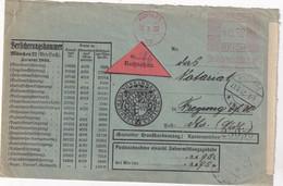 ALLEMAGNE 1932 LETTRE CONTRE REMBOURSEMENT EMA DE MÜNCHEN - Brieven En Documenten