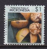 Micronesia, $1 Coconuts, Used - Micronesia