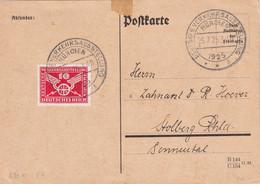 ALLEMAGNE 1925 CARTE DE MÜNCHEN VERKEHRSAUSSTELLUNG - Brieven En Documenten