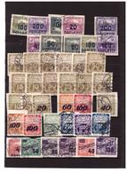 C39  -  CECOSLOVACCHIA     /  LOTTO   VALORI USATI - Collections, Lots & Series