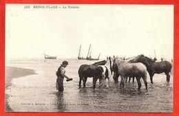 123 . BERCK-PLAGE -  La Toilette - Berck