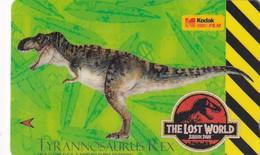 SINGAPORE(GPT) - Jurassic Park/The Lost World-Tyrannosaurus Rex, CN : 9SKOB(normal 0), Mint - Singapore