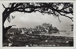 20   2 B Calvi   Le Port Et  La Haute Ville - Calvi