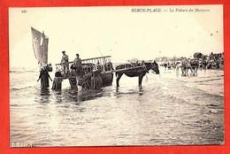 161 . BERCK-PLAGE -  La Voiture Du Mareyeur. - Berck