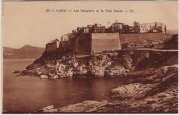 20   2 B Calvi  Les Remparts Et La Ville-haute - Calvi
