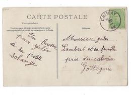 Cartes Postales: N° 137 Avec Cachet De La Poste De 1919 - 1915-1920 Albert I.