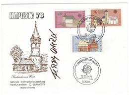 GERMANIA DEUTSCHE BUNDESPOST 1978 EUROPA CEPT NAPOSTA '78 Cancel FRANKFURT AM MAIN - 1978