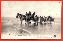 405. BERCK-PLAGE -   Transbordement Du Poisson. - Berck