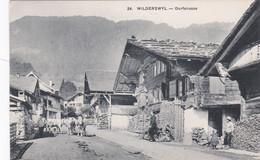 SUISSE / BERNE / WILDERSWYL / Dorfstrasse / Animation - BE Berne