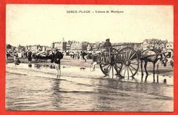 . BERCK-PLAGE - Voiture De Maréyeur. - Berck
