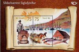 Iceland 2010, NORDEN - Life At The Coast, MNH S/S - Nuovi