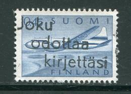 FINLANDE- P.A Y&T N°8- Oblitéré - Usados