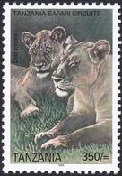 TANZANIE, 2005, Animaux (faune) | Chats Sauvages | Mammifères | Lions - Felinos