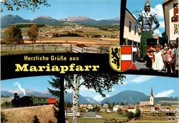 Herzliche Grüsse Aus Mariapfarr - 4 Bilder (5571/2) * 8. 10. 1973 - Samson - Mariapfarr