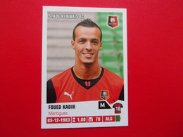 PANINI Foot 2013-14  N°376 Stade Rennais FC  Foued Kadir - Französische Ausgabe