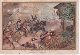 BATAILLE DE FROESCHWILLER(CHROMO) 1870 - Other
