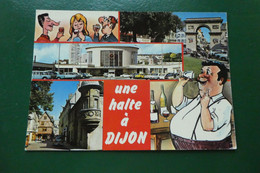 W 2 / DIJON 21 COTE D OR PHOTO R MOISY MULTIVUES UNE HALTE A DIJON - Dijon