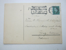 1929 , MAGDEBURG , Klarer Maschinenstempel Auf Karte - Brieven En Documenten