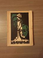 1914-1918 IJZERTOREN VLAAMSE BEWEGING ANTWERPEN WEVELGEM De Offergang Van Lode De Boninge En Frans Van Der Linden. - Guerre 1914-18