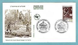 FDC France 1995 - Métier De La Forêt - Ardennes - YT 2943 - 08 Renwez - 1990-1999