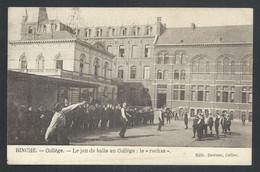 "+++ CPA - BINCHE - Jeu De Balle Au Collège ""Le Rechas""   // - Binche"