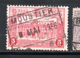 YT 172 OBLITERE MOUSTIER - 1923-1941
