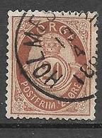 Norvège    N° 42 Oblitéré      B/TB     Soldé    à Moins De 15 %     Le Moins Cher Du Site ! ! ! - Used Stamps