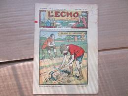 """L'écho Du Noel  N° 817 (2 Mai 1926) """"Blaise Et Grégoire"""" - 1900 - 1949"""