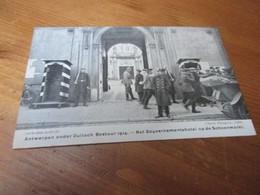 Antwerpen Onder Duits Bestuur 1914, Het Gouvernemenshotel Op De Schoenmarkt - Antwerpen