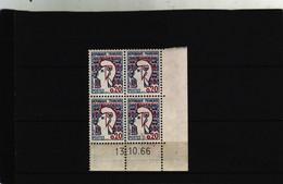 N° 1282 -0,20 Marianne De COCTEAU - Type II -16° Tirage - 13.6.1966 -  Jour Unique - - 1960-1969