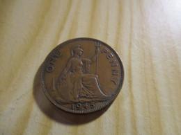 Grande Bretagne - One Penny George VI 1945.N°1247. - D. 1 Penny