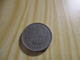 Sri Lanka - 2 Roupies 1995.N°1252. - Sri Lanka (Ceylon)