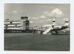 Lourenço Marques, Aeroporto, Torre De Controle E Avião, Airport, Control Tower And Airplane, TAP SUPER CONSTELLATION - Mozambique
