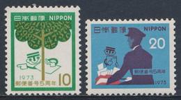 Japan Japon Nippon 1973 Mi 1183 /4 SG 1325 /6 ** Postal Code Campaign /  5. Jahrestag Der Einführung Der Postleitzahlen - Post