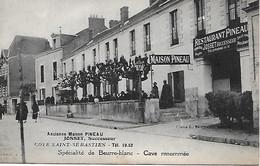 NANTES -  COTE DE SAINT- SEBASTIEN -  ANCIENNE MAISON PINEAU -  JOSSET SUCCESSEUR- SPECIALITE DE BEURRE- BLANC - Nantes
