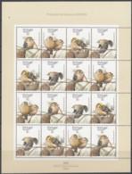 PORTUGAL AZOREN  397-400, Kleinbogen, Postfrisch**, Naturschutz: São-Miguel-Wintergoldhähnchen, 1989 - Azores