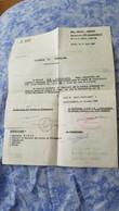 LETTRE TAPUSCRITE SIGNE MANUSCRIT AVION AVIATION 2eme  Region Aerienne Lille Lesquin Erala  VAGUEMESTRE 14 JUIN 1957 - Documenti Storici