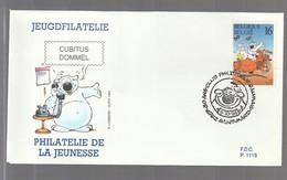 FDC - Cubitus / Dommel - B.D. -  Timbre N° 2578 - Tampon Saint-Mard - 1991-00