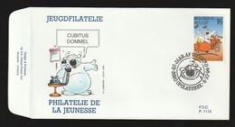 FDC - Cubitus / Dommel - B.D. -  Timbre N° 2578 - Tampon Opglabeek - 1991-00
