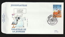 FDC - Cubitus / Dommel - B.D. -  Timbre N° 2578 - Tampon Brussel - 1991-00