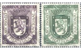 Ref. 180654 * MNH * - CHILE. 1958. NATIONAL PHILATELIC EXHIBITION . EXPOSICION FILATELICA NACIONAL - Non Classificati