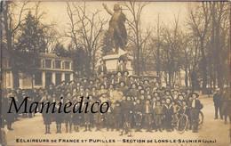 Eclaireurs De France Et Pupilles. - Section De LONS-LE-SAUNIER. Superbe Animation. Verso Vierge Avec Traces D'album - Oorlog 1914-18