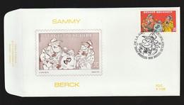 FDC - Sammy / Berck- B.D. -  Timbre N° 2619 - Tampon Bruxelles - 1991-00