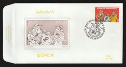 FDC - Sammy / Berck- B.D. -  Timbre N° 2619 - Tampon Ferrières - 1991-00