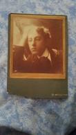 PHOTO ORIGINALE  Portrait D Un Homme Pensif Vers 1900 UN DANDY - Persone Anonimi