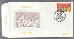FDC - Sammy / Berck- B.D. -  Timbre N° 2619 - Tampon Antwerpen - 1991-00